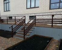 Perila, veranda (metallokonstruktcii)
